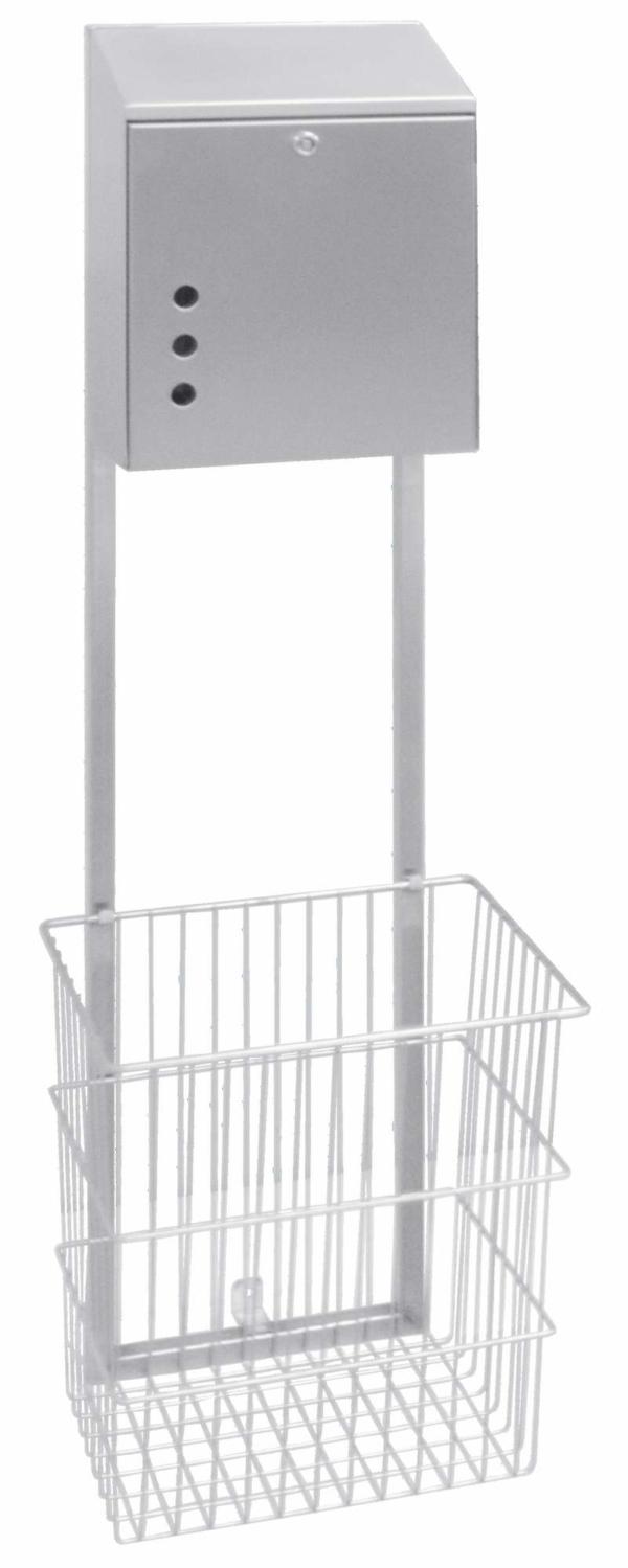 Paper dispenser / basket combination - 100463 & 100465