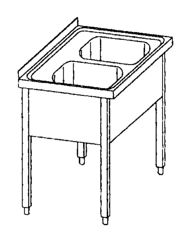 Sink Double - 100700-100707