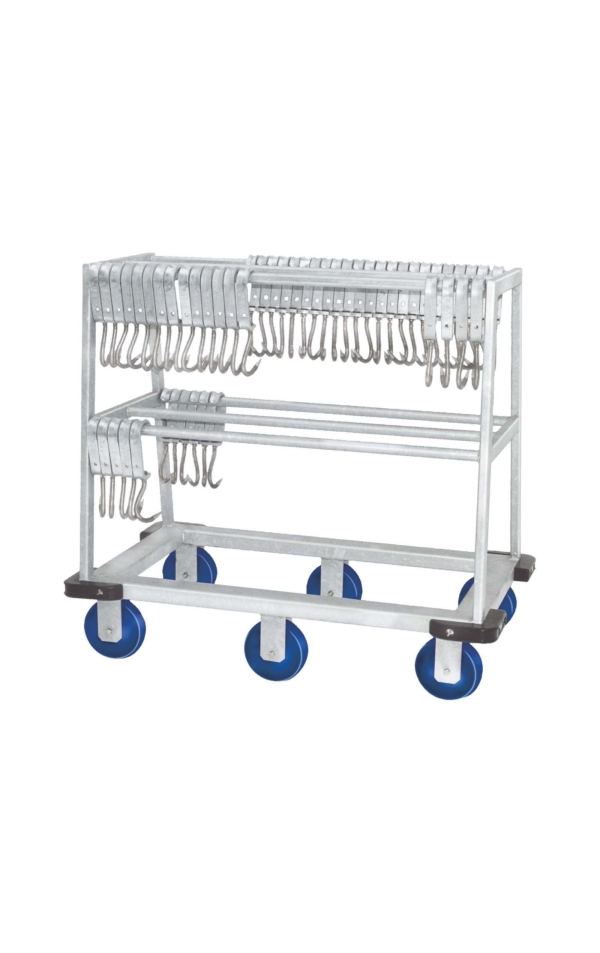 Empty Hook - Transport Carriage (Stainless steel) - 100002