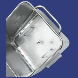 Euro tub with drip grid & drain – 100032