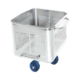 Euro tub according to DIN 9797 perforated model 300l - 100038