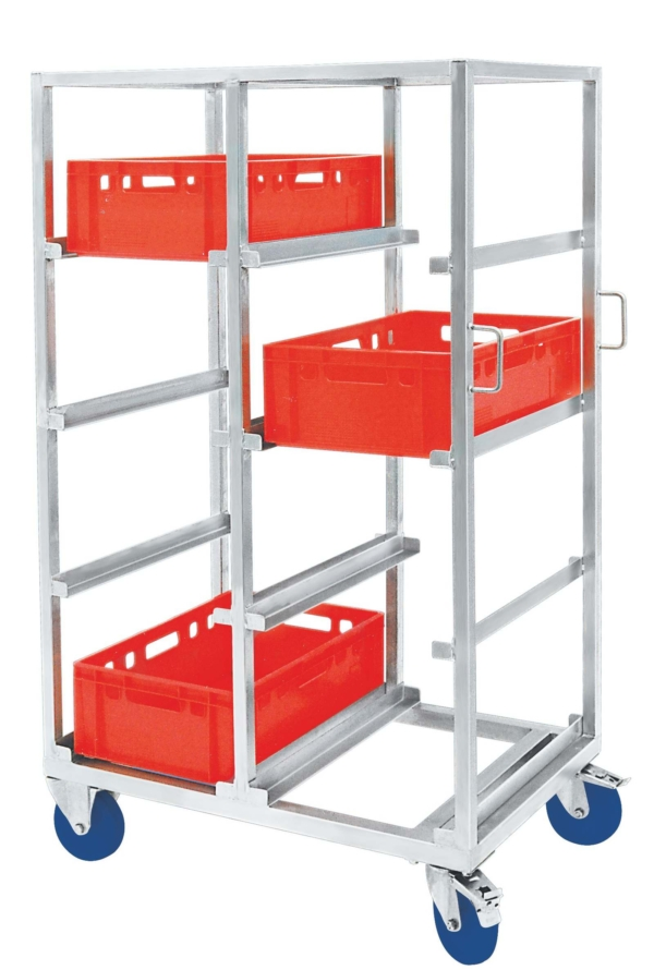Shelf Trolley for EURO Boxes – 100068