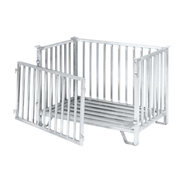 """Iron-Barred Box """"L"""" – 100095 / 100100"""
