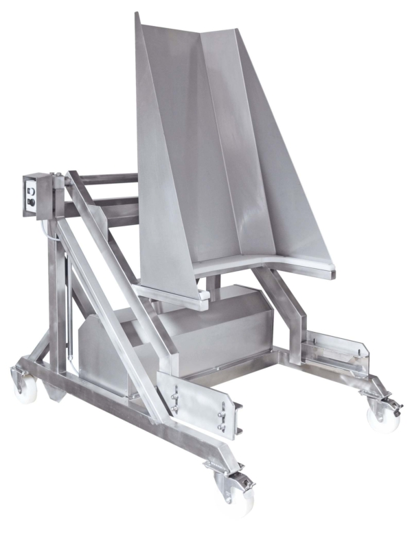 Type SL 25 Lift – Tipping Device for 200 litre standard Euro tubs – 100130-100132