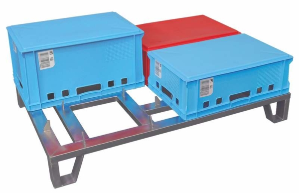 Drying Pallet for Euro-crates - 100094
