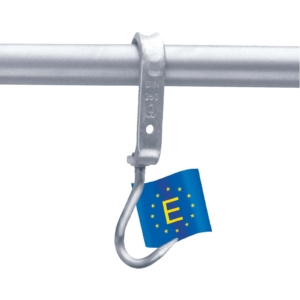 Standard hook according to DIN5047 250kg Capacity - 100353