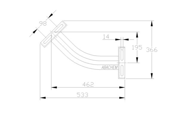 45° Bend - 120023