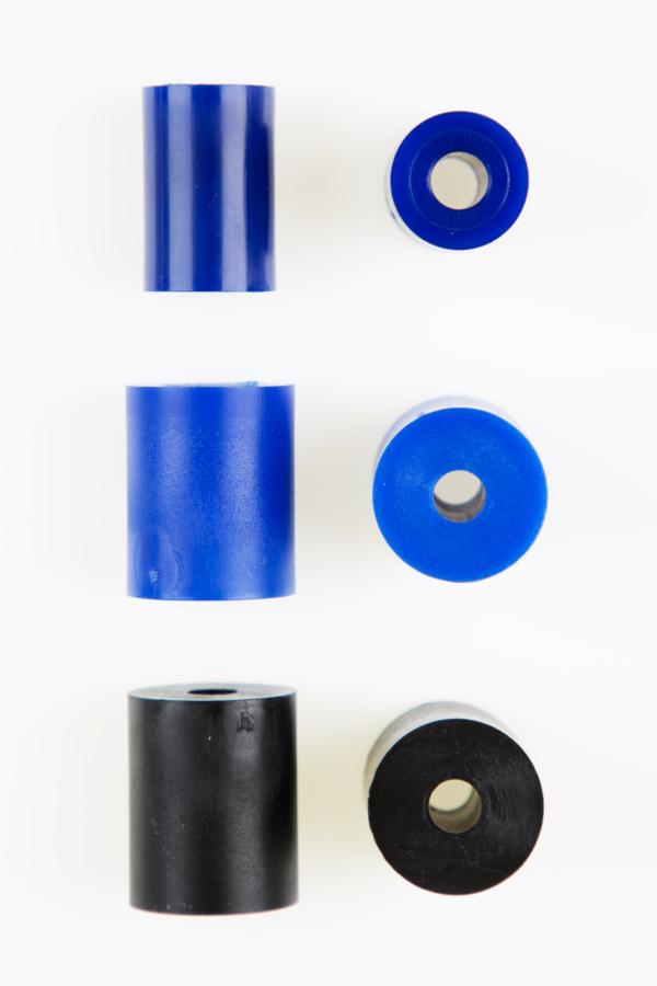 High Temp Side Rollers 22mm/black - 130008