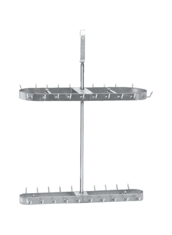 Transport Hanger for meat/liver (Round tube) – 250kg capacity – 100409
