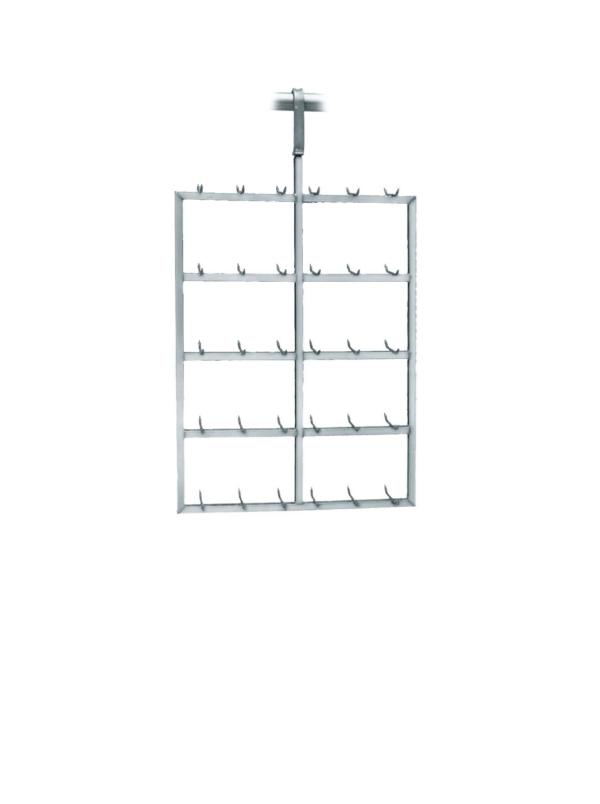 Transport Hanger for meat/liver (Square tube)– 250kg capacity – 100410