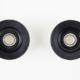 Black Wheels (Double Bearing)- 160005