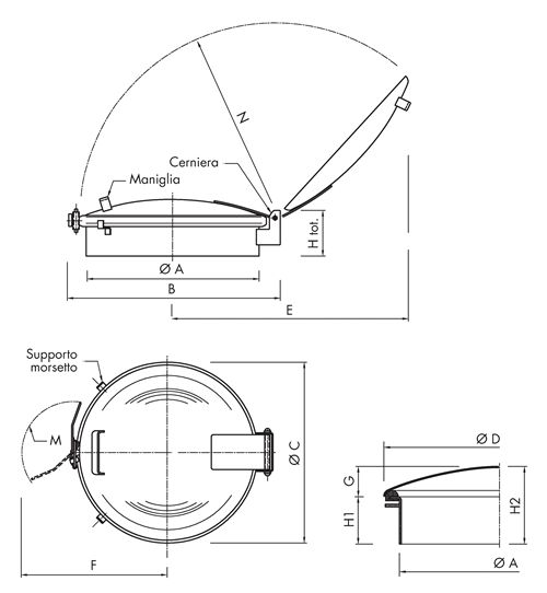Heavy Standard Hatch Code: BP405