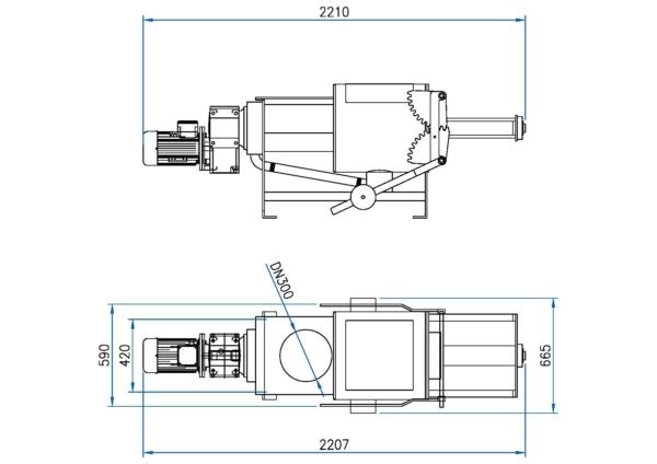 Manure Compactor Model - T26-50