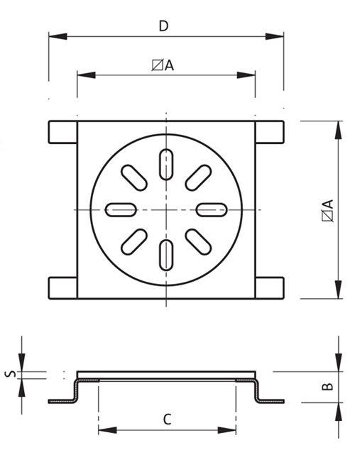 Light Inspection 125mm Code: ISP.10x10