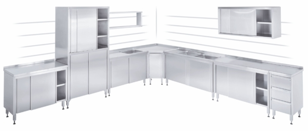 Cupboard with Drawers - 100767