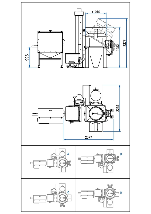 Inline Automatic Model Type: LAS-30