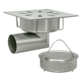 Gully 300x300 outlet 101,6 / 110mm Code: P.006L